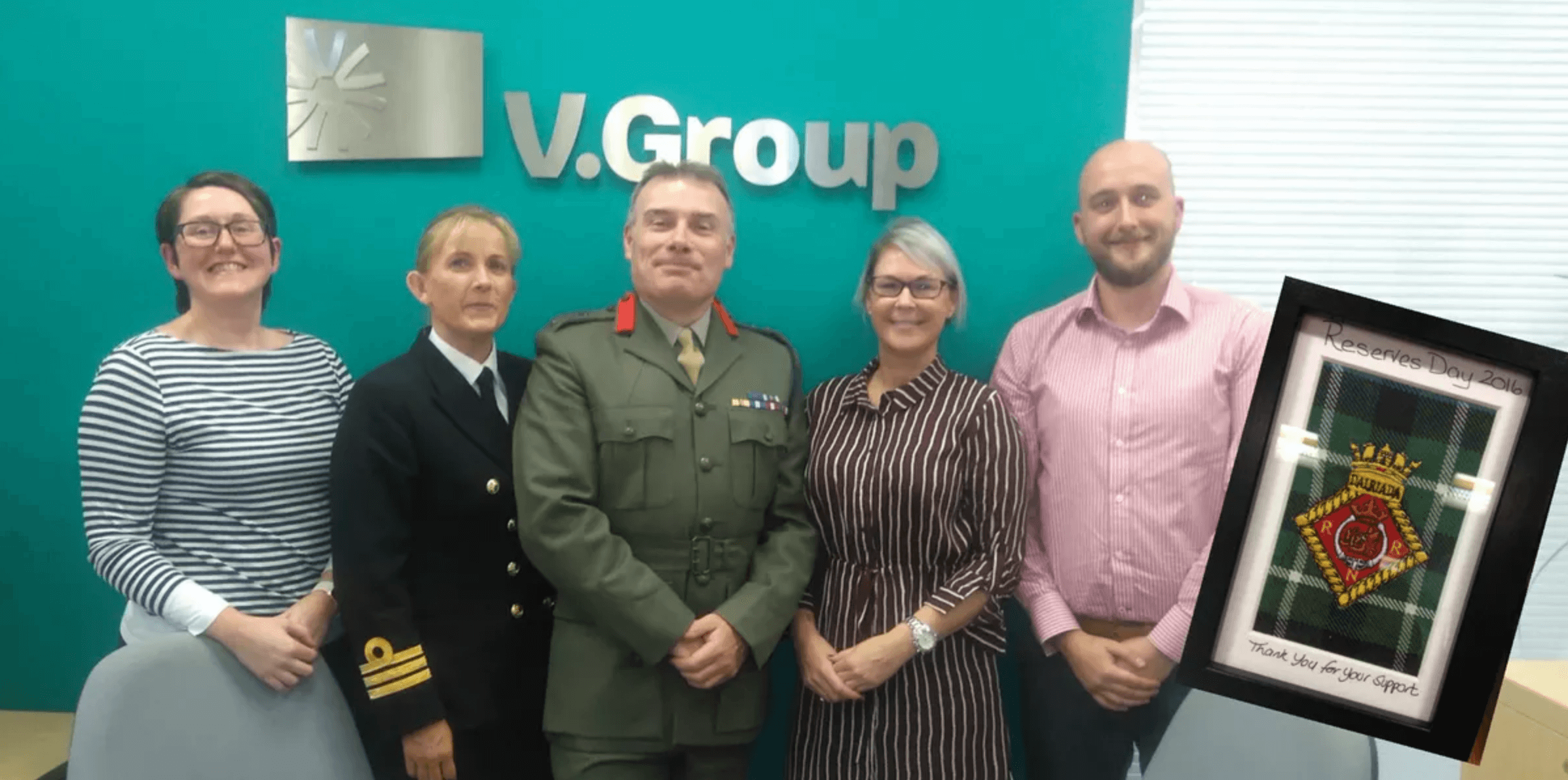 UK Royal Navy Thanks VGroup For Supporting Reservists