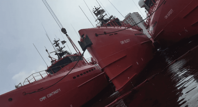 V.Ships Offshore wins contract with CMM for five new oil spill recovery vessels in Brazil