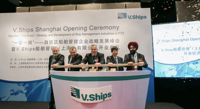 V.Ships Shanghai hosts official opening ceremony