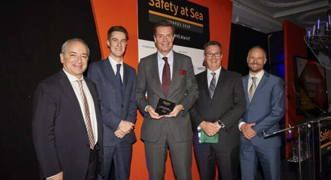 V.Ships Leisure wins Amver award for outstanding seamanship