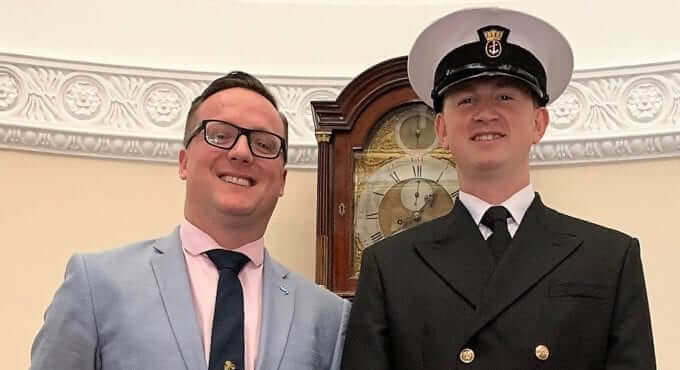 V.Ships Cadet Matthew Gigg named as Officer Trainee of the year