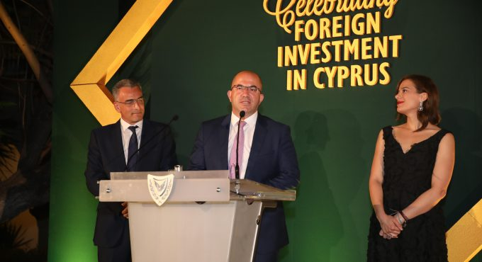 V.Group presented with Gold Award at the Invest Cyprus Awards