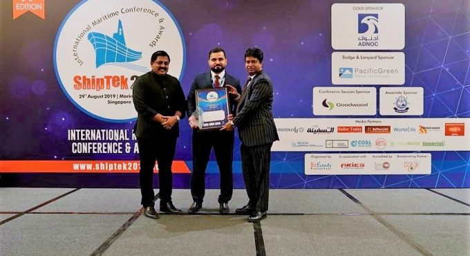 SeaTec scoops ShipTek International Award