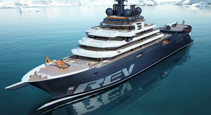 REV Ocean selects V.Ships Leisure as ship management partner for world's largest research and expedition vessel