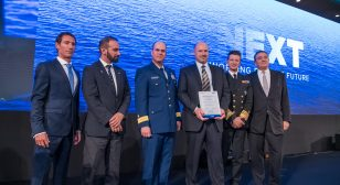V.Ships crew of vessel Venetiko recognised with Special Rescue Amver Award