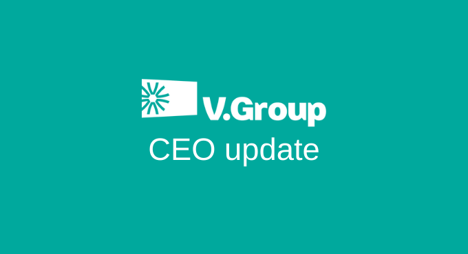 V.Group CEO highlights importance of industry collaboration in video update