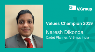 V.Group celebrates CEO Values Champions Winner