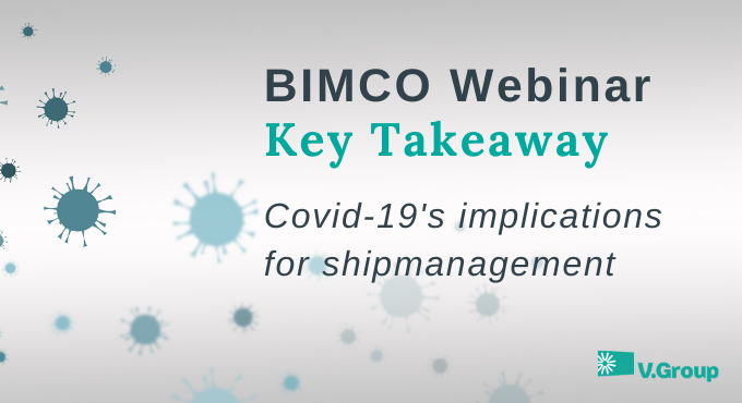 BIMCO: COVID-19's implications for ship management