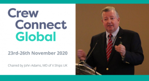 John Adams to chair CrewConnect Global 2020