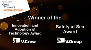 V.Group's success at Crew Connect Global Awards 2020